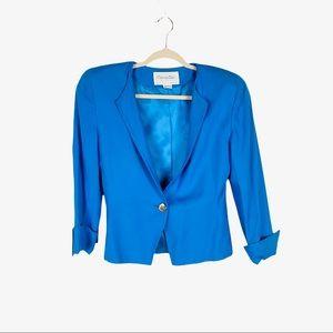 Christian Dior The Suit Vintage Blue Jacket Blazer